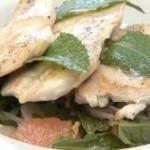 Кулинарные рецепты — Куриный салат с грейпфрутом