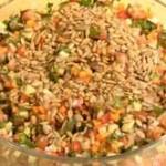 Кулинарные рецепты — Салат средиземноморский рубленый